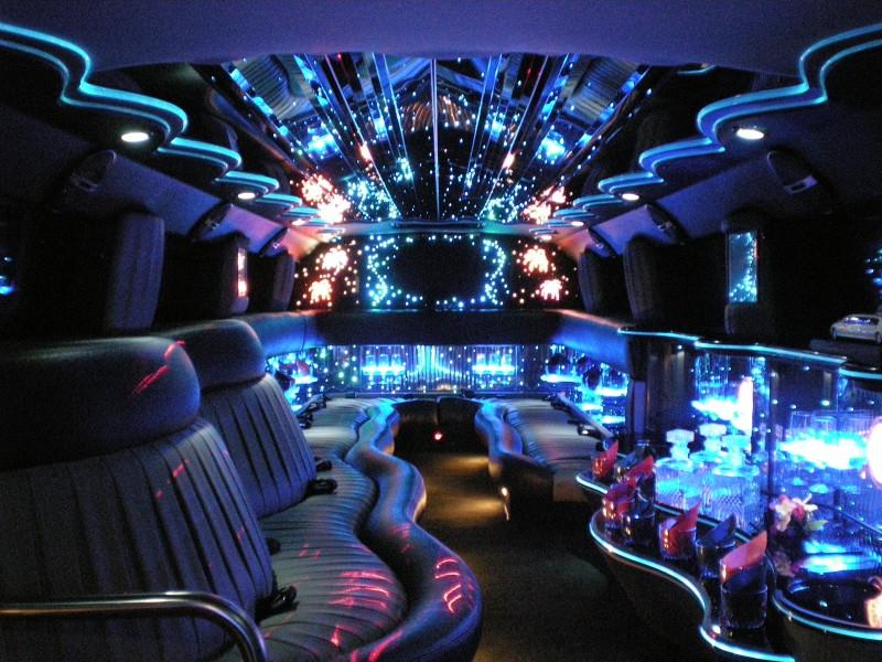 Ferrari Limousine Interior